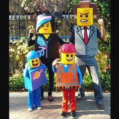 Halloween 2014! #familycostumes #familythemecostumes #familycostume  #groupcostumes #familytheme #halloween #legomoviecostume #legomovie #legocostume #legofamily #LegoCostumes #legocosplay #minifigures #wyldstyle #presidentbusiness #bennylego #emmetlego #spiritsesameplace  #LEGO