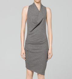 Helmut Lang - Sonar Wool Dress