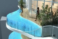 Luxury Tower Provides Residents With Private Pools On Their Balcony    via PSFK: http://www.psfk.com/2012/07/private-balcony-hotels-tower.html#ixzz20Q9BB6Hc