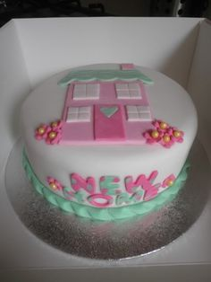 New house cake