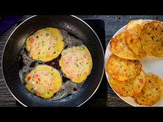 Smaženky saltfish - chutné placičky - vyrovnají se i těm nejchutnějším b. Breakfast Lunch Dinner, Breakfast Recipes, Quick Easy Meals, Kefir, Food And Drink, Healthy Eating, Eggs, Pizza, Youtube