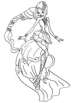 10 Best Winx Club Coloring Pages For Your Little Ones