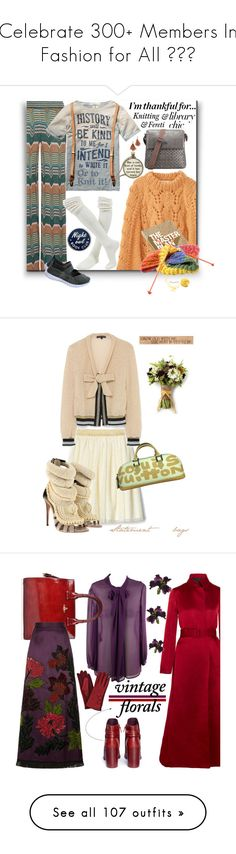 """""""Celebrate 300+ Members In Fashion for All 🎂⭐️"""" by ragnh-mjos ❤ liked on Polyvore featuring contest, polyvoreeditorial, Missoni, Scotch & Soda, Nuuna, Lizzie Fortunato, Giuseppe Zanotti, DutchCrafters, Louis Vuitton and polyvorecommunity"""