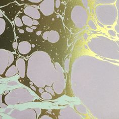 Custom Color Way   #marble #wallpaper #calicowallpaper #mint green #gold #metallics