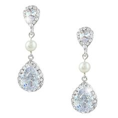 Ever Faith CZ Crystal Simulated Pearl Bride Teardrop Earrings Silver-Tone N04257-1 Ever Faith http://www.amazon.co.uk/dp/B00NFDH3N6/ref=cm_sw_r_pi_dp_vOeUvb0DZTQA3