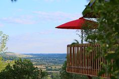Stunning countryside view at LE DOMAINE DES PRES VERTS SPA Guesthouse in Burgundy