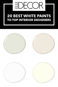 White paint can make or break a room. Here, what you need to know about the best white paint colors. Best White Paint, White Paint Colors, Wall Paint Colors, Paint Colors For Home, White Paints, House Colors, Interior Design Trends, Interior Design Programs, White Interior Design