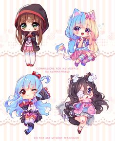 [+Videos] Commission - Chibi feelings by Hyanna-Natsu on DeviantArt Manga Kawaii, Kawaii Chibi, Kawaii Anime Girl, Kawaii Art, Anime Art Girl, Dibujos Anime Chibi, Cute Anime Chibi, Hyanna Natsu, Cute Kawaii Drawings