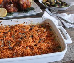 Sweet Potato Gratin with Pancetta, Parmesan and Sage. A most ...