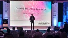 Watch Pravin Srinivasan - Lead, Security Sales, Cisco India & SAARC, delivering session on Securing the Digital Enterprise at ‪#‎CIPC2015‬