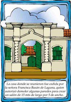 Dibujos Día de la independencia de Argentina | Colorear dibujos infantiles Plants Vs Zombies, Independence Day, Ideas Para, Taj Mahal, Classroom, Education, House Styles, School, Building