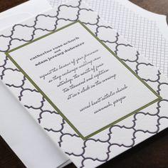 belle wedding invitation by checkerboard ltd impressed wedding collection pinterest invitations wedding and belle - Checkerboard Wedding Invitations