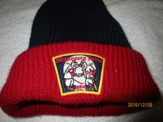 MINNESOTA TWINS STOCKING HAT RETRO PATCH FRONT OSFA COPPERSTOWN COLLECTION