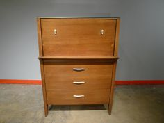 profile furniture | Mid Century Drexel Profile Gentleman's Chest in Logan Park ...