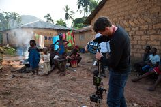 The 360-degree video Dan Edge is shooting in Africa will give Frontline viewers a new perspective
