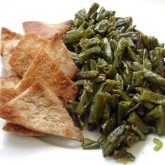 Fasoliyyeh Bi Z-Zayt (Syrian Green Beans with Olive Oil) Allrecipes.com
