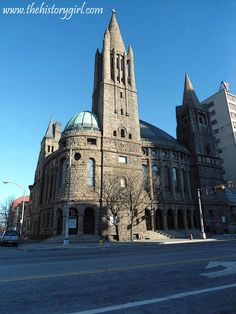 Peddie Memorial Baptist Church in Newark, NJ built in 1888. It was designed by architect William Halsey Wood. Discover more history @ www.thehistorygirl.com