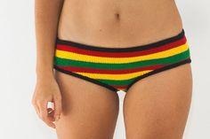 Rasta Reggae Festival Bikini Bottom and Underwear / RP1