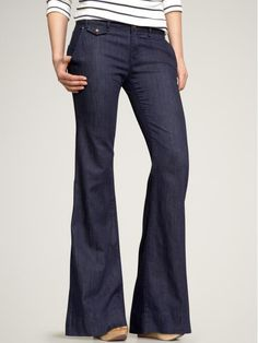 There is nothing better than wide leg pants. New Wide Leg Trouser Jeans - Gap Jeans Gap, Love Jeans, Trouser Jeans, Wide Leg Jeans, Wide Legs, Pants, Skinny Jeans, Cropped Jeans, Skirt Patterns