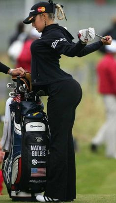Natalie Gulbis is my favorite female golfer. She doesn't have the best golf game, so why is she my favorite?