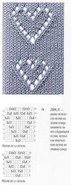 Baby Knitting Patterns lots of lace patterns! Baby Knitting Patterns, Knitting Stiches, Knitting Charts, Lace Patterns, Easy Knitting, Loom Knitting, Crochet Stitches, Stitch Patterns, Knitting Tutorials