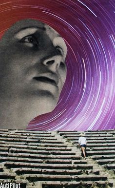 collage 187. #papercollage Collages, Collage Art, Magic Realism, Realism Art, Mixed Media Artwork, Deep Space, Mix Media, Psychedelic Art, Photo Manipulation