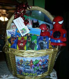 SuperHero Easter Basket