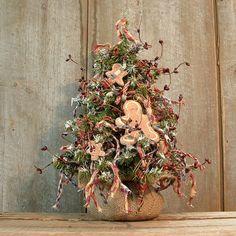 Primitive Christmas Tree                                          #Christmas