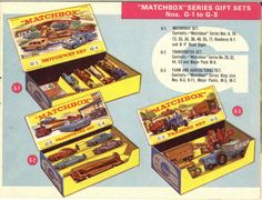 Matchbox Lesney 1964 catalog Gift sets 1 to 3