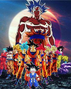 Check out our Dragon Ball merch here at Rykamall now! Dragon Ball Gt, Wallpaper Do Goku, Goku Transformations, Majin, Ball Drawing, Anime Art, Manga Anime, Animes Wallpapers, Goku Super