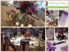 WEDDING 11 May 2013 Jennifer & Carlo COLOURS : white, shades of purple