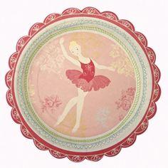 MyPaperSet - Pappteller klein - Ballerina von Meri Meri