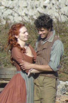 Eleanor Tomlinson and Harry Richardson BTS Season 4 Poldark Season 4, Poldark 2015, Demelza Poldark, Poldark Series, Ross Poldark, Eleanor Tomlinson, The Best Films, Great Movies, Ross And Demelza