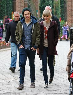 Another lover: Meanwhile, Harry's ex-girlfriend Taylor, who he dated from October 2012 to January 2013, recently set tongues wagging with her fledgling romance with Hollywood hunk Tom Hiddleston