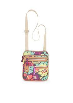 Lily Bloom  Gigi Crossbody Bag - Tropical Pop Floral - One Size