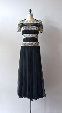 Amateur Dramatics dress vintage 1930s dress by DearGolden