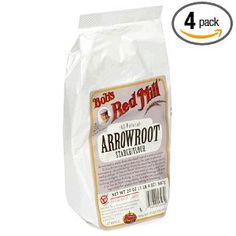 Arrowroot Powder (for using as a thickener instead of flour or cornstarch)