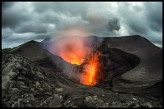 Mt Yasur, Tanna Island, Vanuatu - My first active volcano... simply amazing! Photography by Mathieu Rousseau