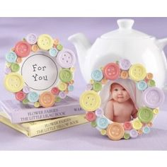 Cute as a button frame! This is something that you can definitely make instead of buying.