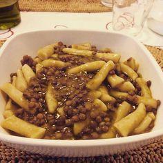 Pasta acqua e farina e lenticchie. Ingredienti, ricetta e tempi di cottura sulla pagina Facebook di Squicity!
