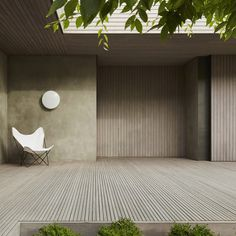 House by Inarc ArchitectsArchitecture Courtyard Decor Interior Design Landscape Minimal Modern Wood Cantilever Architecture, Landscape Architecture, Interior Architecture, Architecture Courtyard, Casa Patio, Patio Interior, Courtyard House, Courtyard Ideas, Building A Deck