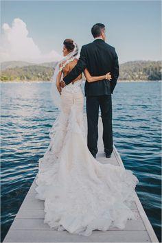 Inbal Dror wedding dress @weddingchicks