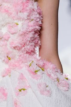 Details at Giambattista Valli Fall 2013 Haute Couture