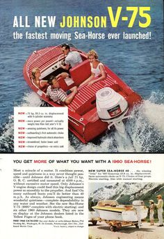 35 best vintage johnson outboard motor ads images on pinterest 1960 johnson outboard motor ad fandeluxe Image collections