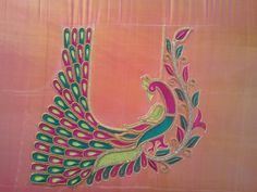 Peacock Blouse Designs, Zardosi Embroidery, Sarees, Crochet Necklace, Stitching, Jewelry, Costura, Jewlery, Jewerly