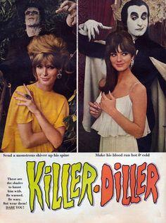 1966 CUTEX lipstick & nail polish ad Makeup History, Dares, Hot, Running, How To Make, Movie Posters, Beautiful, Color, Movies