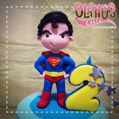 His heart beats if you doubletap him ;)  #Birthdaycake #customcake #customcakejakarta #partyfavour #kueulangtahunjakarta #jajanjakarta #delicious #sweettable #fondant3D #caketopper #sugarart #torte #bolo #olanoscakes #olanos #jakarta #yummy #amazing #instafood #sweet #cake #olshopcake #jktfoodies #supermancake #superman