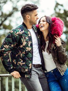 Pánska army bomber bunda MNAK-97 Army, Couple Photos, Couples, Outfit, Gi Joe, Couple Shots, Outfits, Military, Couple Photography