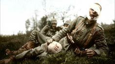 """Apocalypse """"les gueules casseées"""" http://www.francetvinfo.fr/societe/guerre-de-14-18/video-apocalypse-la-premiere-guerre-mondiale-les-gueules-cassees_559805.html"""