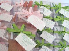 Tsurus para a Taliana - presentinhos verde e rosa claro